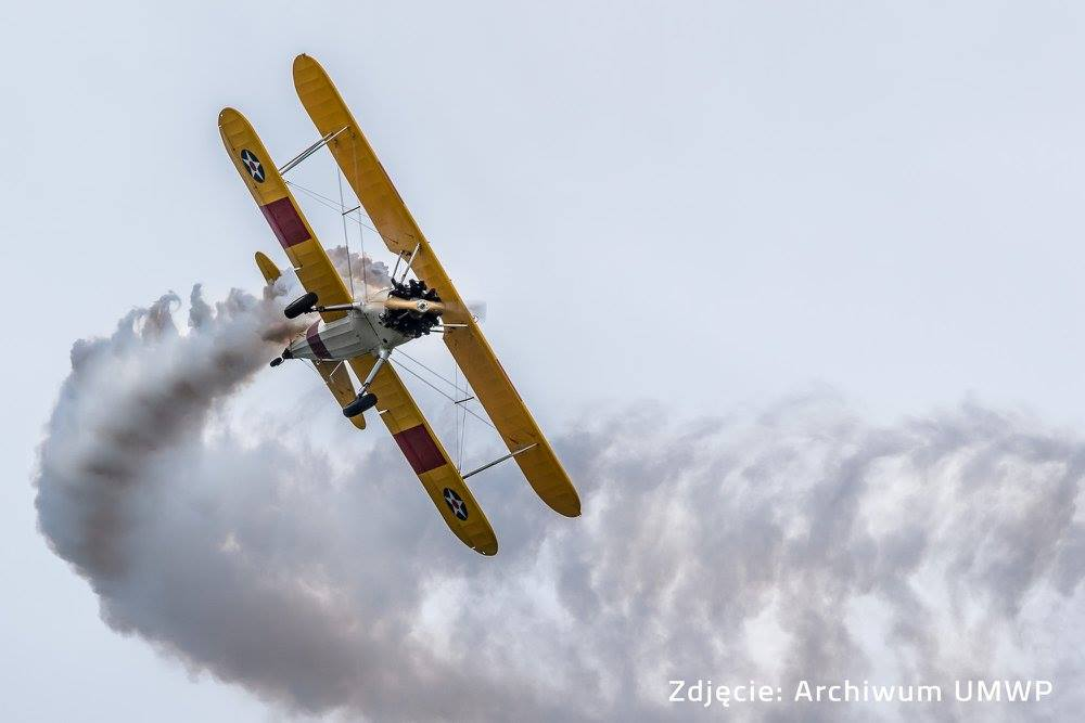 Royal-Star Aero flying at Krosno Aircraft Show 2017